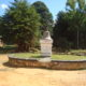 This is the centre of town in Livingstonia. It is a small roundabout marked by a bell that serves as the identifier of the mission headquarters
